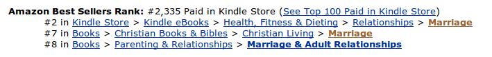 Best Selling Author Status